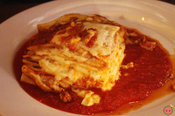 Lasagna Tradizionale - traditional italian with bechamel and meat ragout