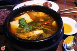 Yuk Ge Jang - Beef, mushroom, bracken, spicy broth