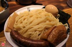 Tsukemen Ingredients Plate