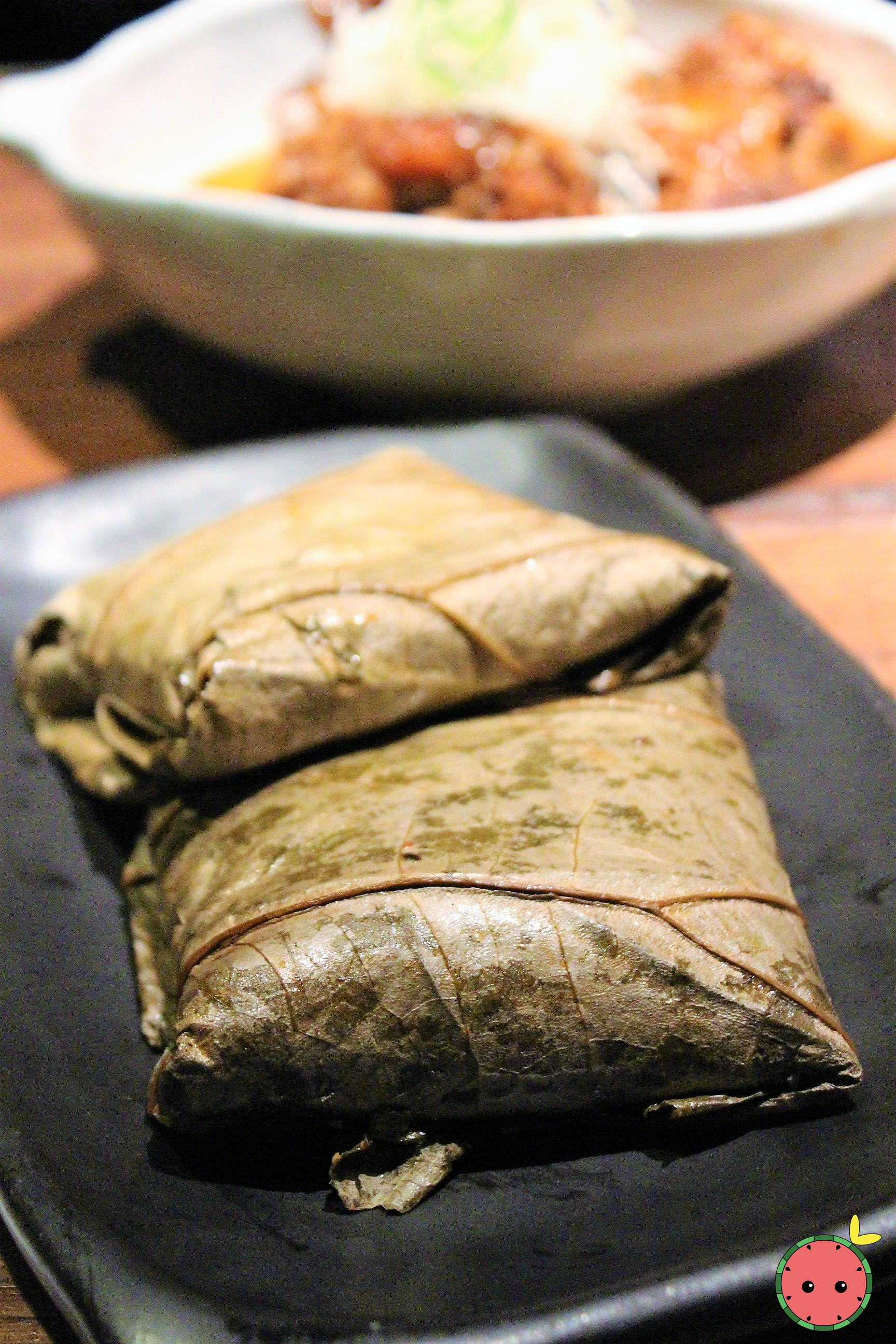 Lotus Leaf Wrapped Sticky Rice 2