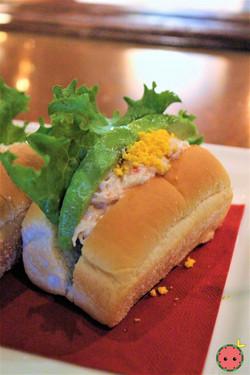 Chef's Special Sandwich with Snow Crab, Avocado