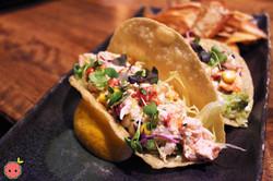 Lobstah Tacos with Lobster Salad, Roasted Sweet Corn, Roasted Garlic, & Fresh Tarragon