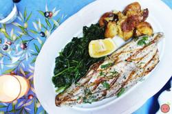 Branzino_alla_Griglia_-_Grilled_Italian_sea_bass_with_sautéed_spinach_and_herb-pressed_potatoes