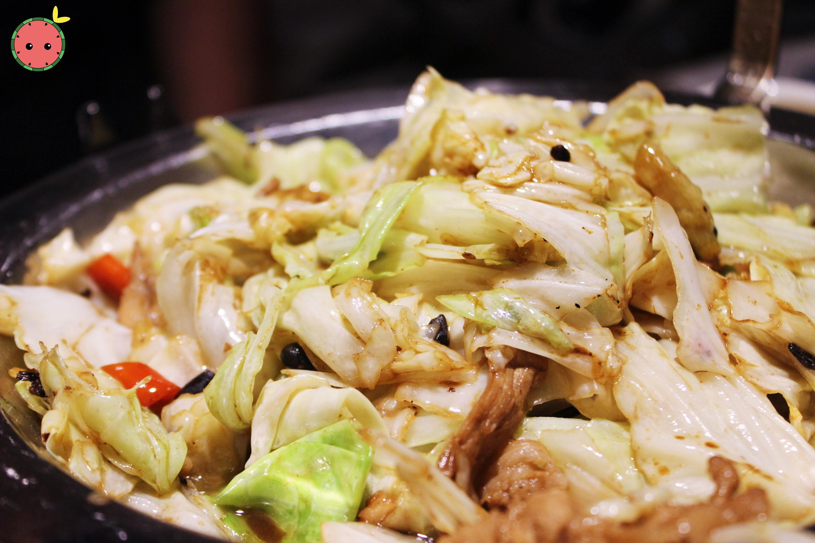 Fried Cabbage with Soy Sauce