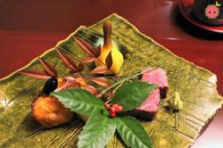 Ozaki-Gyu & Yuzu Butter Fish (with Miso, Kuromame, & Kuwai) 4