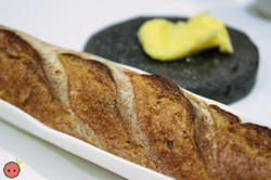 Wholegrain Ficelle with Cultured Butter