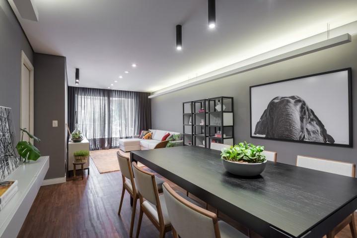 Apartamento LA. Foto: Gazeta do Povo