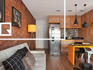 O porcelanato ideal para apartamento pequeno