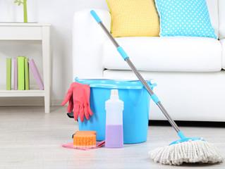 Limpeza e Desinfecção dos Pisos Vinílicos