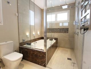 Pensando no projeto do seu banheiro? Confira dicas de revestimentos