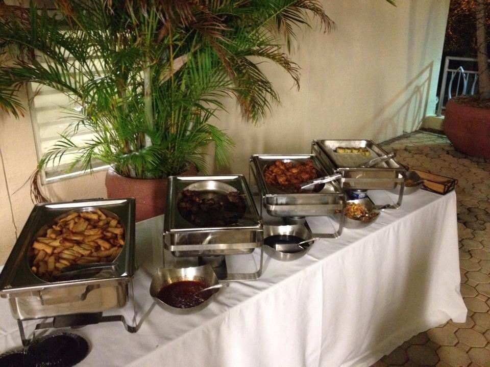 Book Launch food