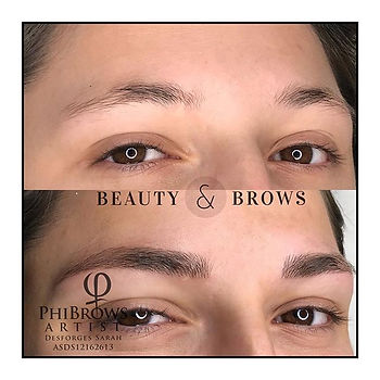 Microblading chez Beauty & Brows 9 rue G