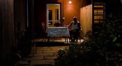 Nihat Alone in the Backyard