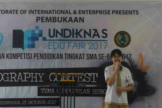 All The Way to The Top, CHIS Won the First Prize in UNDIKNAS English Essay Competition