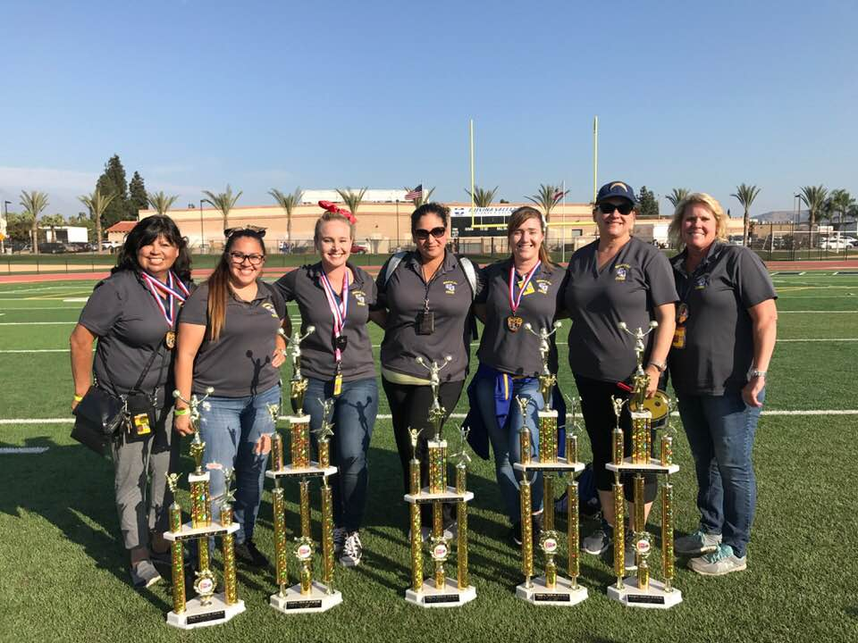 Charter Oak Cheer Coaches 2017