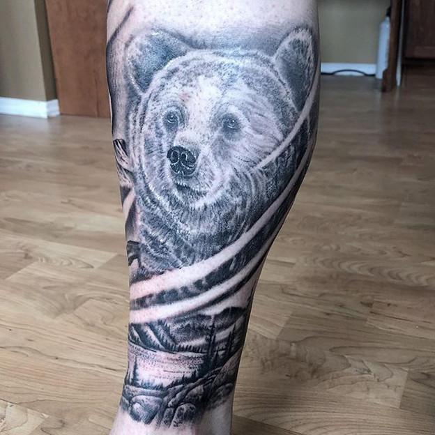Some progress to Jason's wildlife leg sl
