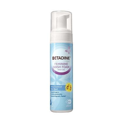 Betadine Feminine Wash Foam Odour Control/ 200ml