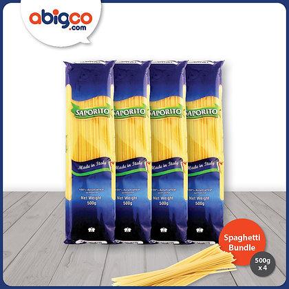 Saporito Spaghetti 4 x 500g