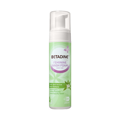 Betadine Feminine Fresh & Active Wash Foam/ 200ml