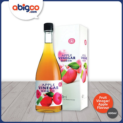 Shih Chuan Fruit Vinegar (Concentrated)/ Apple Flavour/ 600ml