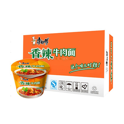 Kang Shi Fu Instant Bowl Noodle - Spicy Beef/ 12*108g
