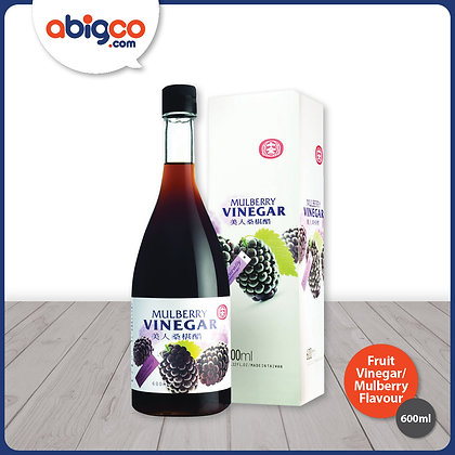 Shih Chuan Fruit Vinegar (Concentrated)/ Mulberry Flavour/ 600ml