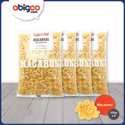 Saporini Macaroni/ 4 x 500g