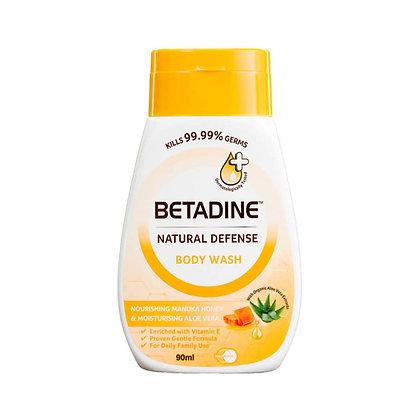 Betadine Natural Defense Body Wash Manuka Honey/ 90ml