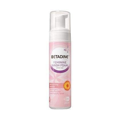 Betadine Feminine Calendula Moisturising Wash Foam/ 200ml