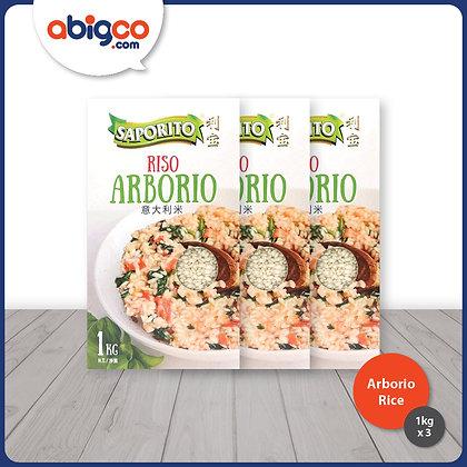 Saporito Arborio Rice/ 3 x 1kg