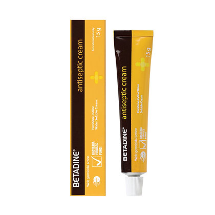 Betadine Antiseptic Cream 5%/ 15g