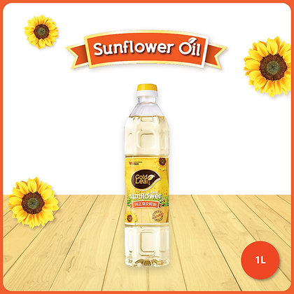 Gold Leaf Sunflower Oil/ 1ltr