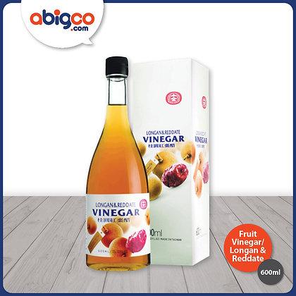 Shih Chuan Fruit Vinegar (Concentrated)/ Longan & Reddate Flavour/ 600ml