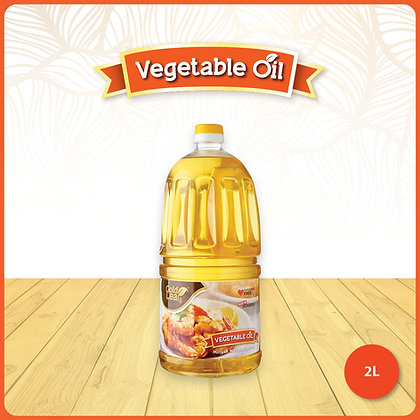 Gold Leaf Vegetable Cooking Oil/ 2ltr