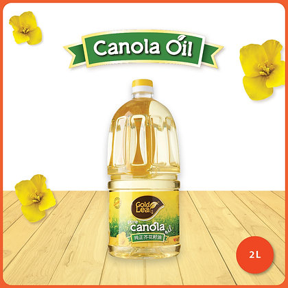 Gold Leaf Canola Oil/ 2ltr