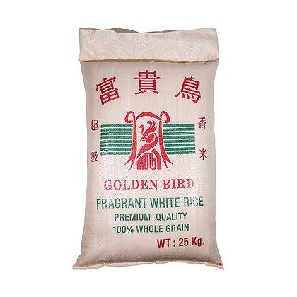 Golden Bird Fragrant White Rice/ 25kg