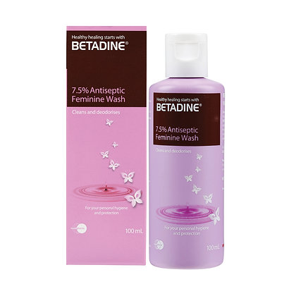 Betadine Feminine Wash PVPI 7.5%/ 100ml