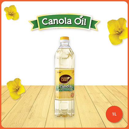 Gold Leaf Canola Oil/ 1ltr