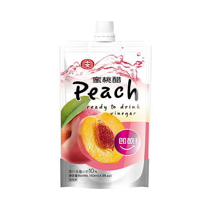 Shih-Chuan Fruit Vinegar/ Peach Flavour/ 6x140ml