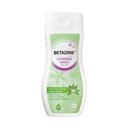 Betadine Feminine Fresh & Active Wash Liquid/ 250ml