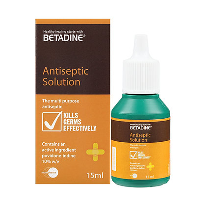 Betadine Antiseptic Liquid/ 15ml