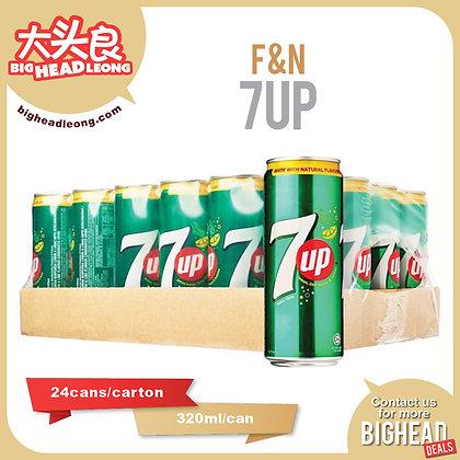 F&N 7up/ 24 x 320ml