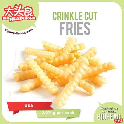 Crinkle Cut Fries/ 2.27kg