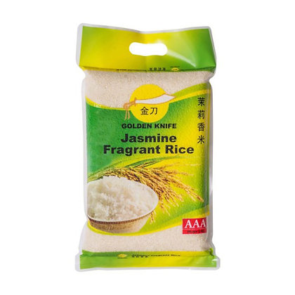 Golden Knife Jasmine Fragrant Rice/ 5kg