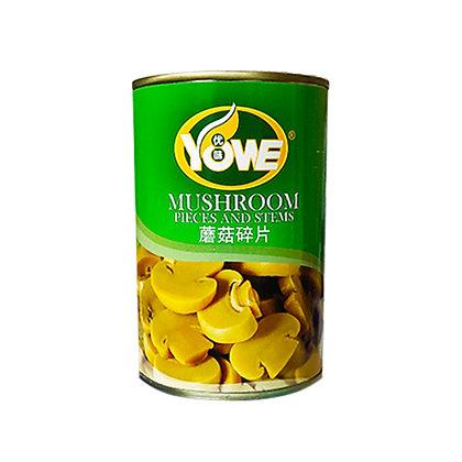 Yowe Sliced Mushroom/ 425g