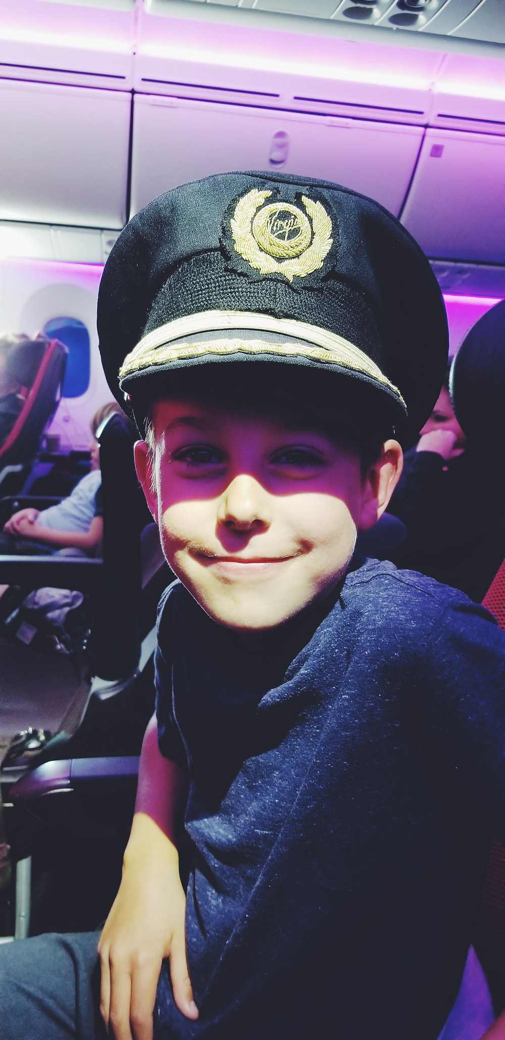 Virgin Atlantic Captains hat