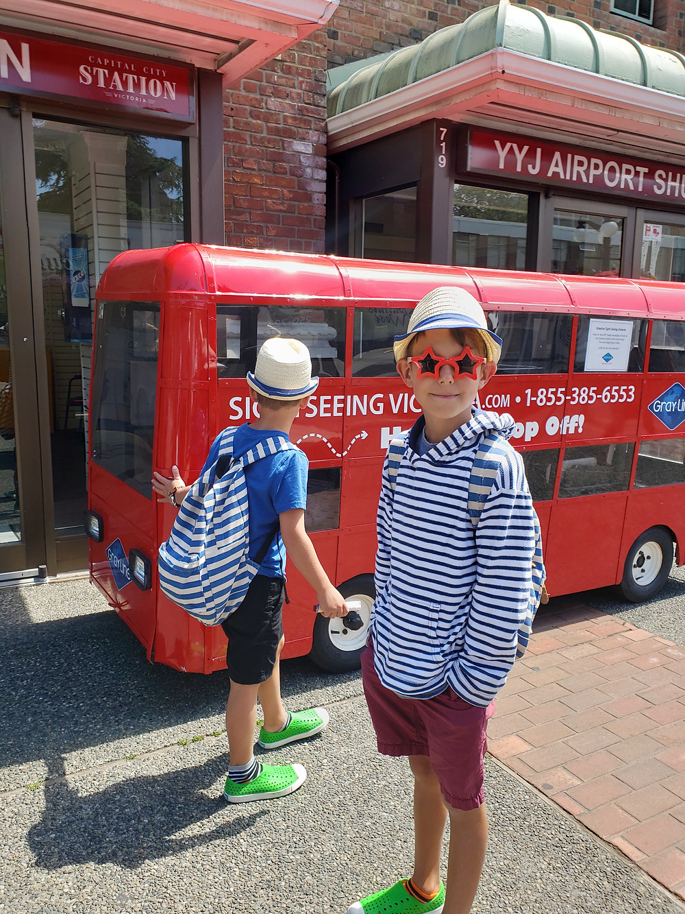 Kids Travel, Sightseeing Victoria
