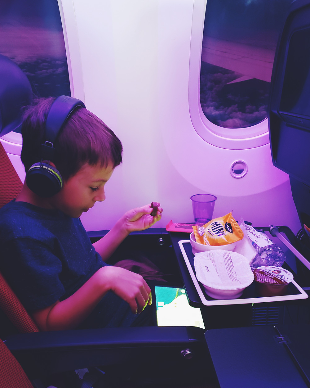 Virgin Atlantic Kids meal