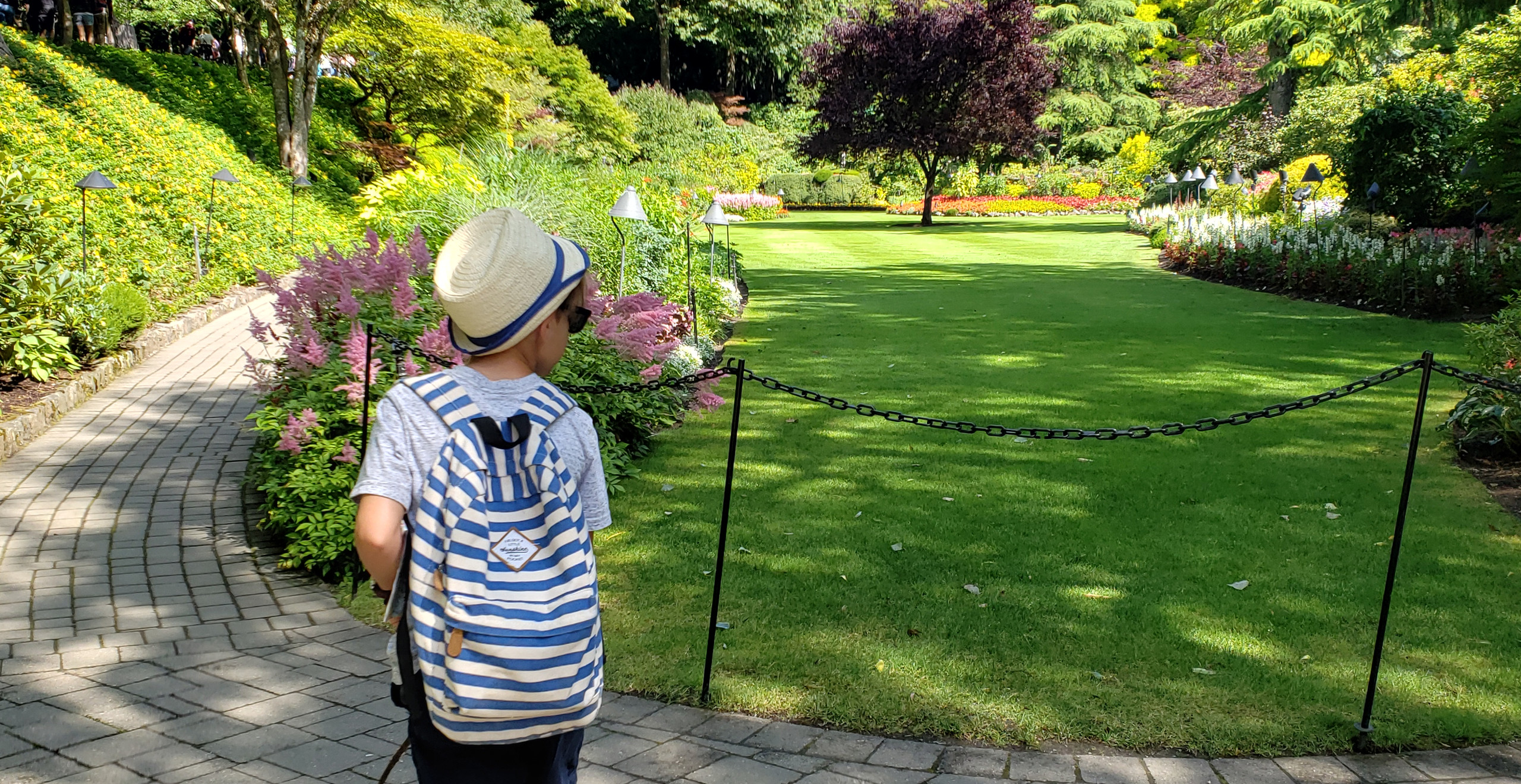 Butchart Gardens with Kids