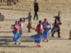 Danseurs du festival du sahara de Douz. jpg